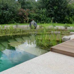 Schwimmteich in Geisling