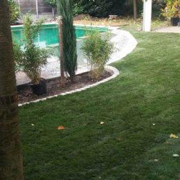 Garten mit Teichblick