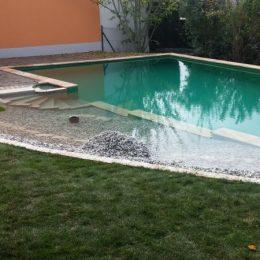 Schwimmteichausschnitt