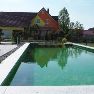 Klassisch scön - Rechteckiger Schwimmteich in Bad Abbach