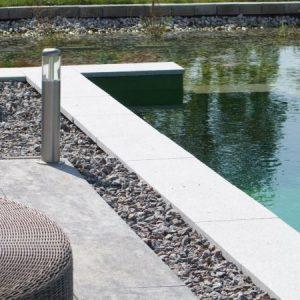Schwimmteich in Bad Abbach, Niederbayern