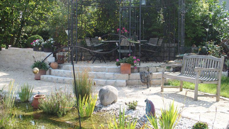 Gestaltungselement Treppen im Garten