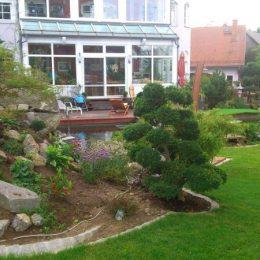 Wasser- und Gartengestaltung in Harmonie